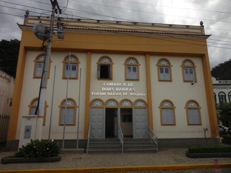 Resultado de imagem para Foto: Fórum de Duas Barras/RJ